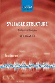 Syllable Structure by San Duanmu image