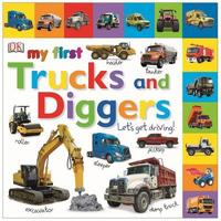 My First Trucks and Diggers Let's Get Driving by DK image