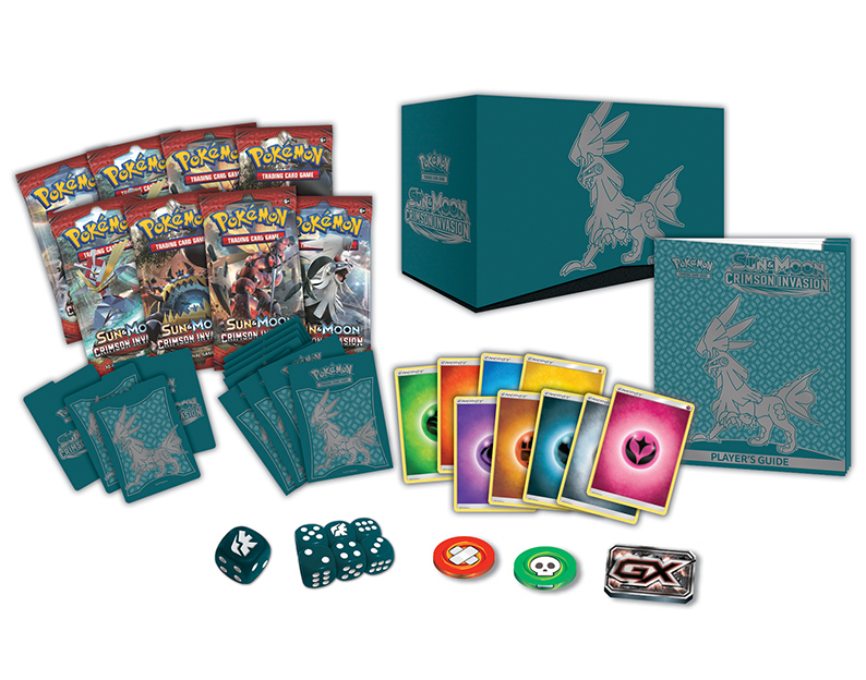 Pokemon TCG Sun & Moon Crimson Invasion Elite Trainer Box image