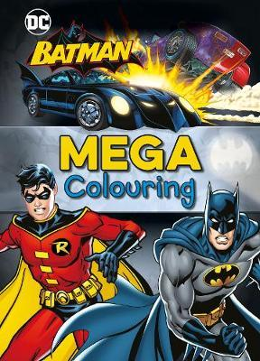 Batman Mega Colouring by Parragon Books Ltd image