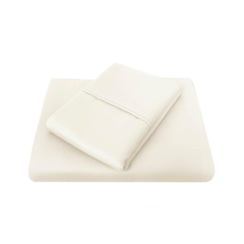 Bambury King 1000 Thread Count Cotton Rich Sheet Set (Ivory) image