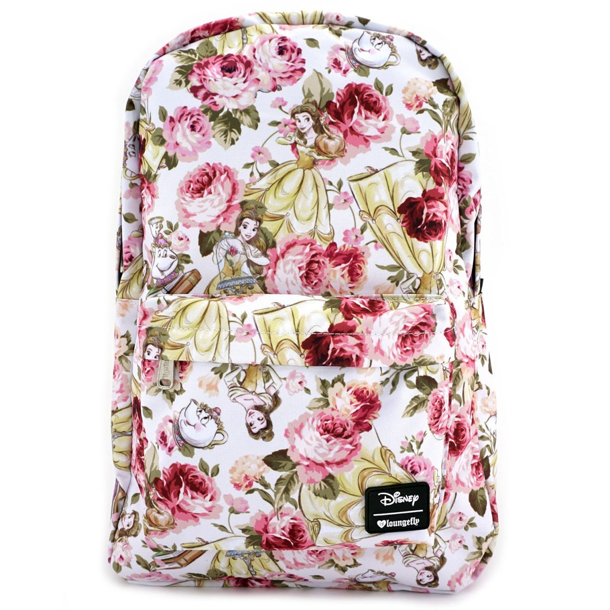 f11a934958a4 Loungefly Disney Belle Floral Backpack image ...