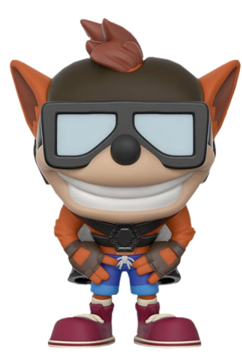 Crash Bandicoot (Jet-Pack Ver.) - Pop! Vinyl Figure image