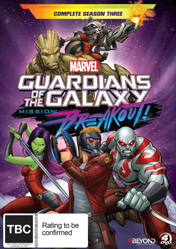 Guardians Of The Galaxy: Complete Season 3 on DVD