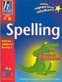 Hodder Home Learning: Age 7-8: Spelling by Rhona Whiteford image