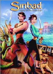 Sinbad: Legend of the Seven Seas on DVD
