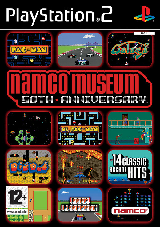 Namco Museum: 50th Anniversary Arcade Collection for PS2