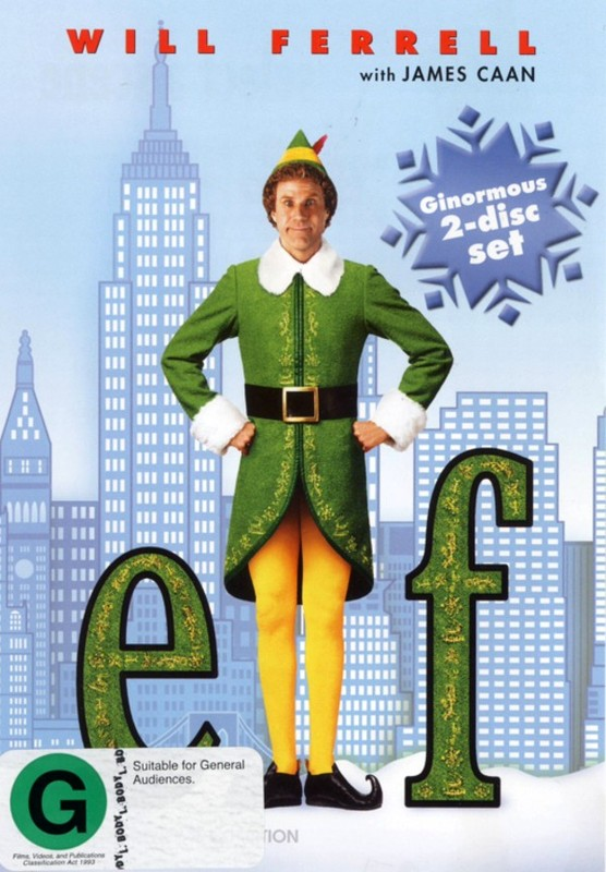 Elf (2 Disc Set) on DVD
