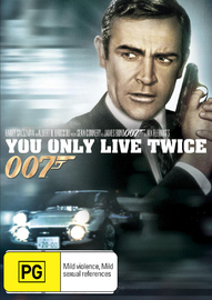 You Only Live Twice (2012 Version) on DVD