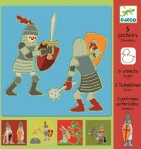 Djeco: Design - Knights Stencils