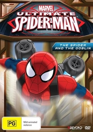 Ultimate Spider-Man: The Spider And The Goblin Season 2 Volume 2 on DVD
