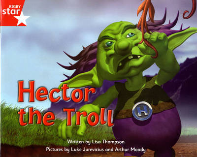 Fantastic Forest Red Level Fiction: Hector the Troll by Lisa Thompson image