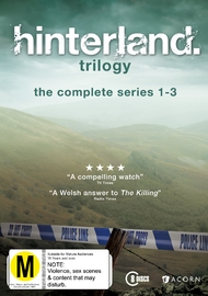 Hinterland - Series 1-3 (Fat Pack) on DVD