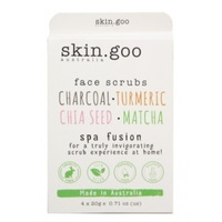 Skin Goo Face Scrub Pack (4x20gm)