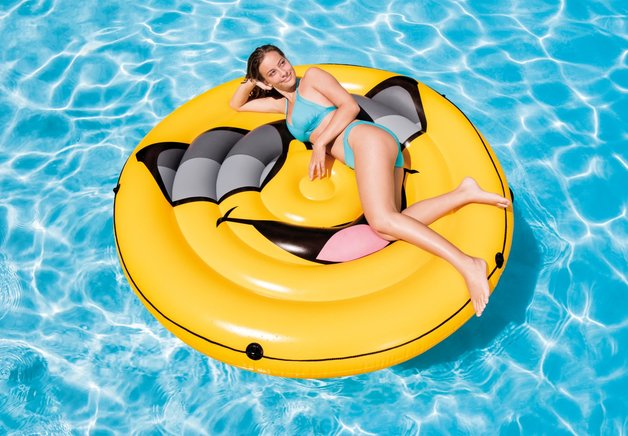 Cool Guy Island Inflatable Lounger At Mighty Ape Nz