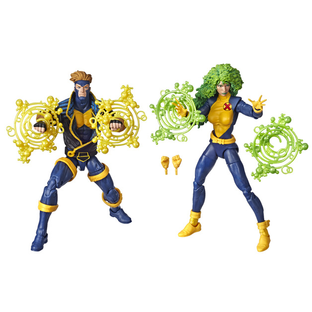 Hasbro Marvel Legends Series: 6-inch Collectible Action Figures - X-Men (2-Pack)