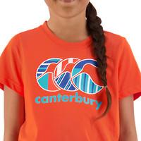 Canterbury: Girls Uglies Tee - Hot Coral (Size 14)