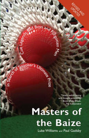 Masters of the Baize by Luke Williams image
