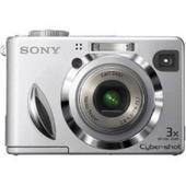Sony Cybershot Digital Camera 7.2MP Silver DSCW7S