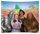 "The Wizard of Oz Emerald City StarFire Glass Print (12"" x 10"")"