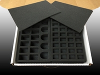 Battle Foam Eco Box Half Tray Load Out (Military Green) image