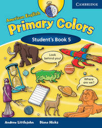 American English Primary Colors 5 Student's Book: Level 5 by Diana Hicks image