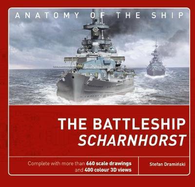 The Battleship Scharnhorst by Stefan Draminski