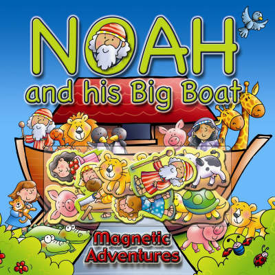 Noah and His Big Boat by Helen Prole image