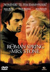 The Roman Spring Of Mrs Stone on DVD