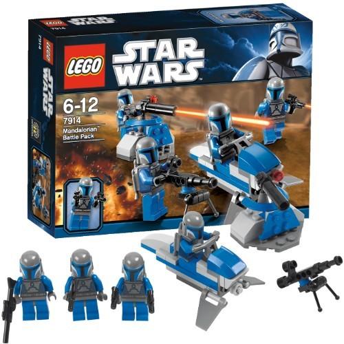 Lego Star Wars Battles 0 30 Apk: LEGO Star Wars Mandalorian Battle Pack (7914)
