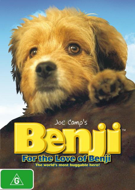 Benji - For The Love Of Benji on DVD image