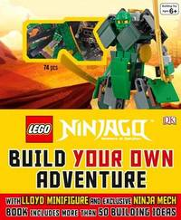 Lego Ninjago: Build Your Own Adventure (Book + Bricks) by DK