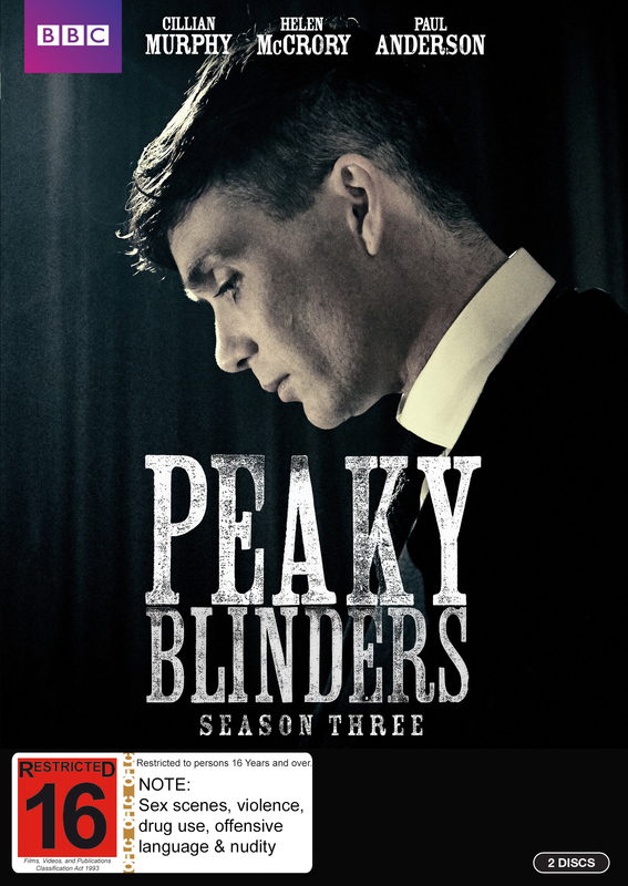 Peaky Blinders - The Complete Series 3 on DVD