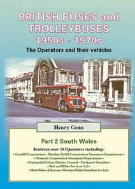 British Buses and Trolleybuses 1950s-1970s: v. 2 by Henry Conn image