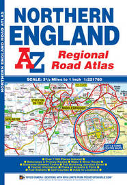 Northern England Regional Road Atlas by Geographers A-Z Map Company