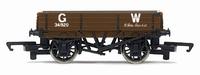 Hornby: 3 Plank Wagon 'GW'