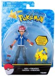 Pokémon: Action Pose Ash & Pikachu - Figure 2-Pack