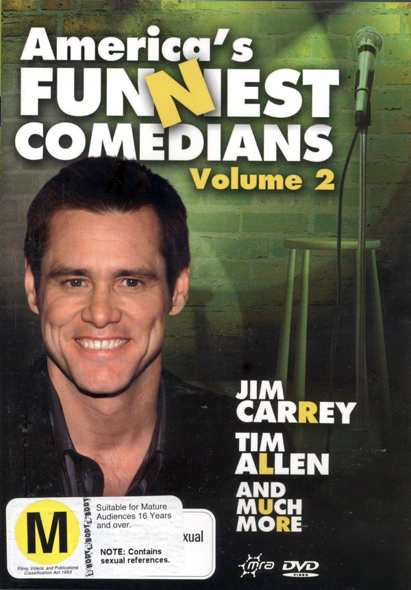 America's Funniest Comedians - Vol. 2 on DVD image