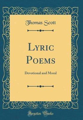 Lyric Poems by Thomas Scott image