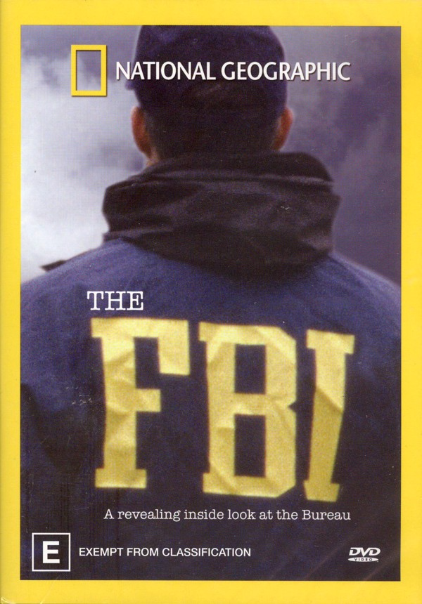 National Geographic - The FBI on DVD image