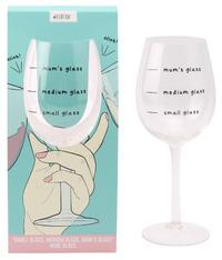 Mum's Wine Glass