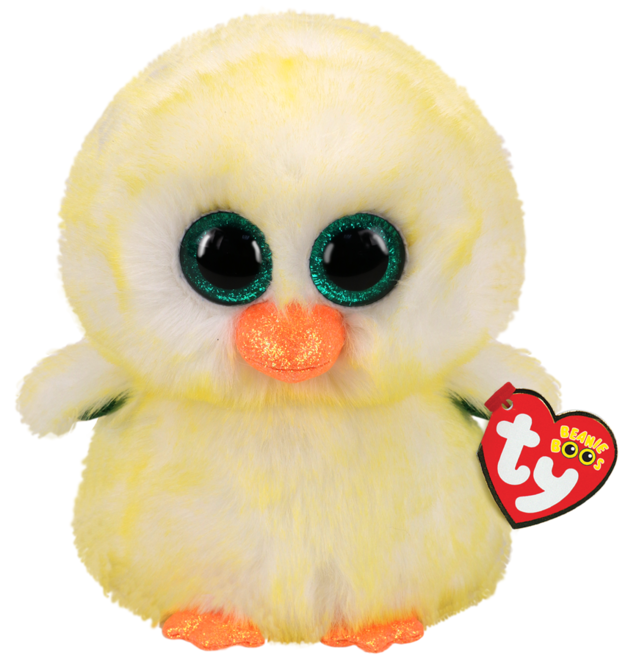 Ty Beanie Boo: Lemon Drop - Small Plush