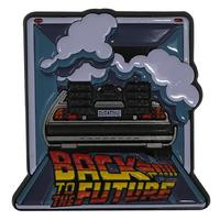 Back to the Future: Large Pin Badge - DeLorean