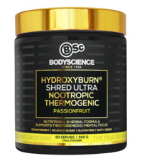 BSc Bodyscience HydroxyBurn SHRED Ultra – Passionfruit