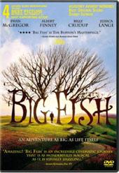 Big Fish on DVD