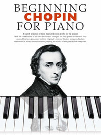 Beginning Chopin For Piano by Frederick Chopin image