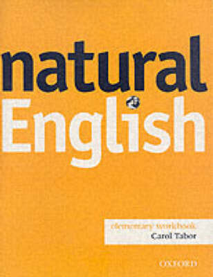 Natural English: Elementary level: Workbook without Key