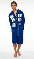 Doctor Who TARDIS Deluxe Hooded Dressing Gown