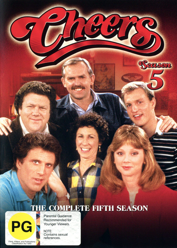 Cheers - Complete Season 5 (4 Disc Set) on DVD