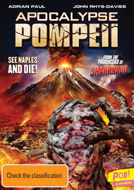 Apocalypse: Pompeii on DVD